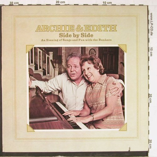 Archie & Edith: Side By Side, Foc,co, RCA(APL1-0102), US, 1973 - LP - E3700 - 5,00 Euro