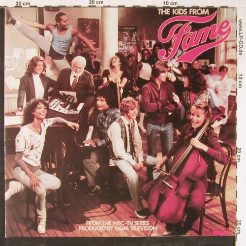 Fame - Kids From Fame: From NBC-TV Series,Foc, RCA(PL 84 259), D, 1982 - LP - E3952 - 5,00 Euro