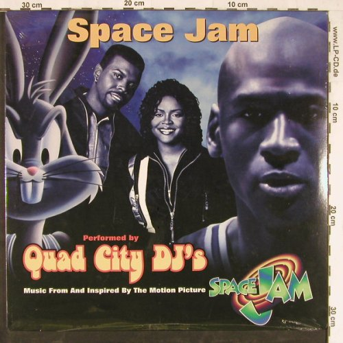 Space Jam: Perf.by Quad City DJ's, FS-New, WB(0-85454), US, 1996 - 12inch - E4012 - 5,00 Euro
