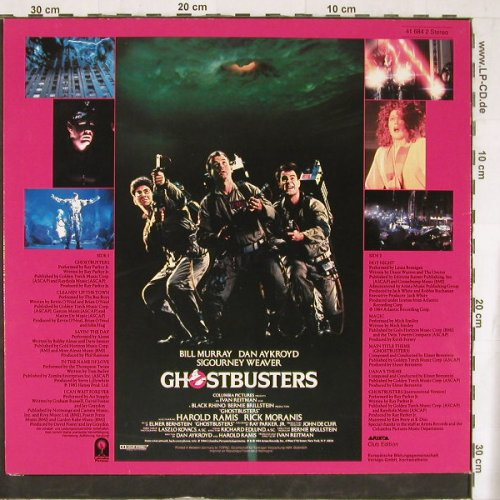 Ghostbusters: Original Soundtrack Album, DSC, Arista(41 684 2), D, 1984 - LP - E4457 - 5,00 Euro
