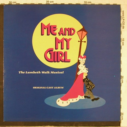 Me And My Girl: The Lambeth Walk Musical, EMI(EJ 24 0301 1), UK, 1985 - LP - E5499 - 6,00 Euro