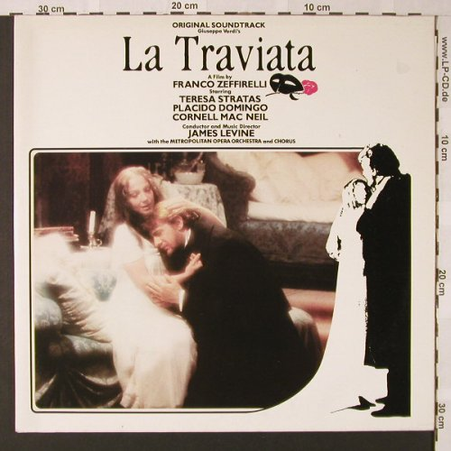 La Traviata: OST, by James Levine, Foc, WEA(25 0072-1), D, 1983 - 2LP - E8197 - 7,50 Euro