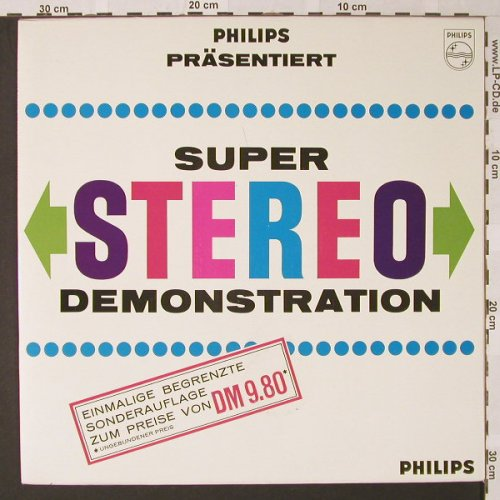 V.A.Stereo-Demonstration: Klangeffekte bei d. Wiedergabe..., Philips(88 143 DY), NL,  - LP - E9024 - 5,00 Euro