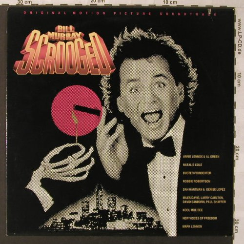 Scrooged: Original Soundtrack, co, AM(SP 3921), US, 1988 - LP - F1200 - 5,50 Euro
