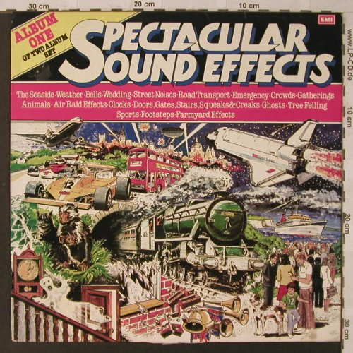Spectacular Sound Effects-One: Seaside...Farmyard, m-/vg+, EMI(054-07 499), UK, 1981 - LP - F2471 - 4,00 Euro