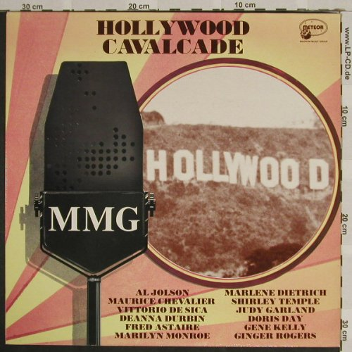 V.A.Hollywood Cavalcade: MMG, Meteor(MTM 016), UK, 1985 - LP - F3925 - 5,00 Euro
