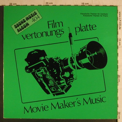 Filmvertonungsplatte/Kathleen Cress: Klassische Themen f.Cembalo, Golden Ring(Sound Music 404), D, 1983 - LP - F6848 - 4,00 Euro