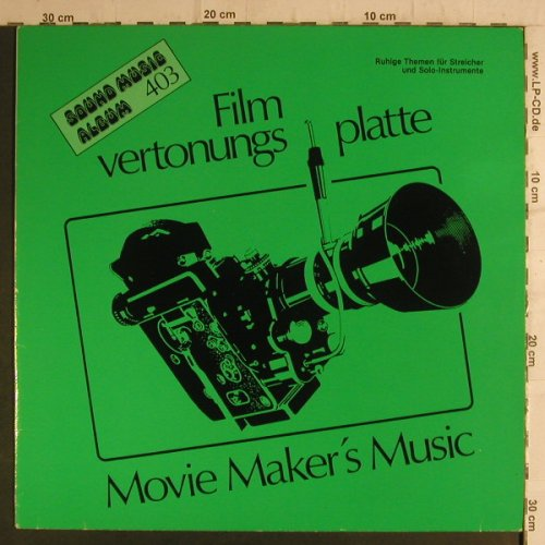 Filmvertonungsplatte/Johnny Douglas: Ruhige Themen f.Streicher,Solo Inst, Golden Ring(Sound Music 403), D, 1982 - LP - F6849 - 4,00 Euro