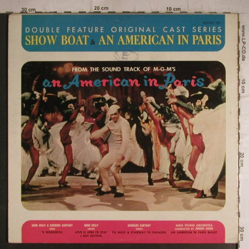 Show Boat/An American in Paris: From Sound Track of MGM, Foc, MGM(E3767 ST), US,vg+/m-,  - LP - F7162 - 5,00 Euro