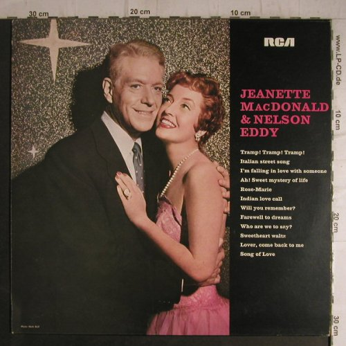 MacDonald,Jeanette & Nelson Eddy: Favorites in HI-FI, RCA International(26.21197), D, Ri, 1971 - LP - F7263 - 7,50 Euro