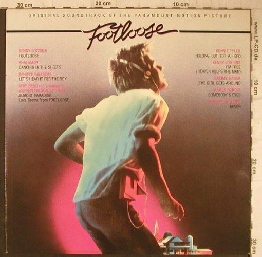 Footloose: Original Soundtrack, CBS(70246), NL, 1984 - LP - F7674 - 5,00 Euro