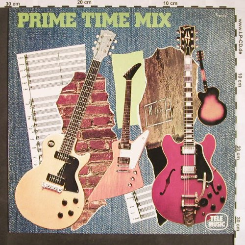 Malone,Steve: Prime Time Mix, Tele Music(TM 3111), D, 1987 - LP - F9420 - 5,00 Euro
