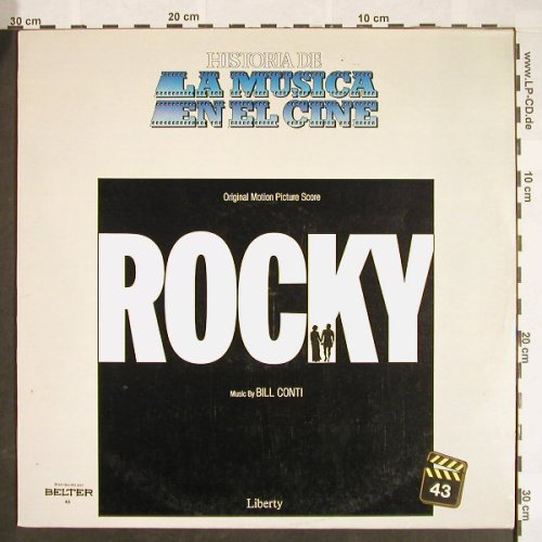 Rocky: Origin.MotionPicScore,by Bill Conti, Liberty(43), I, 1976 - LP - F9628 - 4,00 Euro