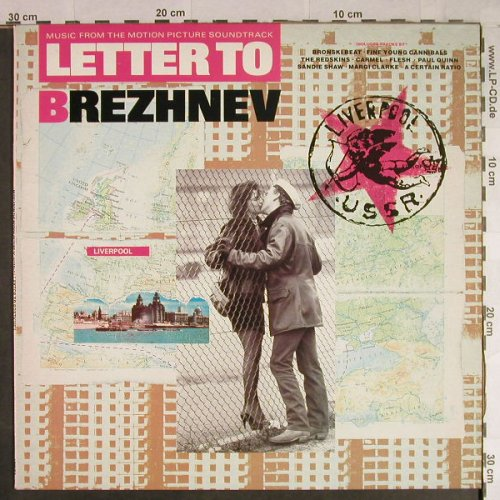 Letter To Brezhnev: Music from-FYC...Margi Clark, London(LONLP 8), EU, 1985 - LP - H1066 - 5,50 Euro