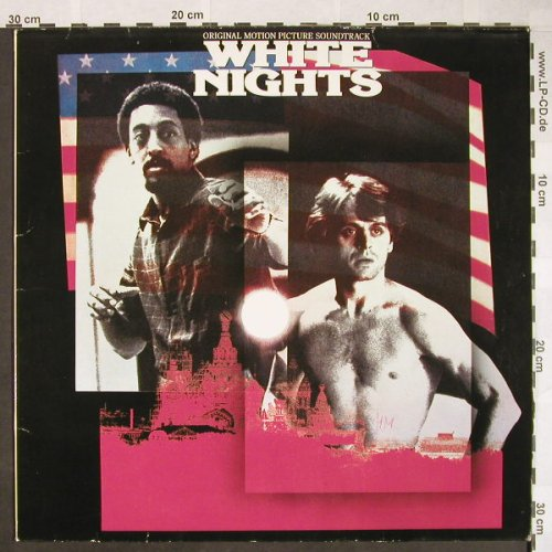 White Nights: Phil Collins/M.Martin..Jenny Burton, Atlantic(781 273-1), D, 1985 - LP - H13 - 5,50 Euro