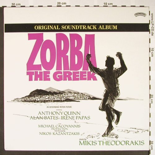 Zorba The Greek: Original Soundtrack '73, Ri, Casablanca(6337 242), NL, 1986 - LP - H1562 - 5,00 Euro