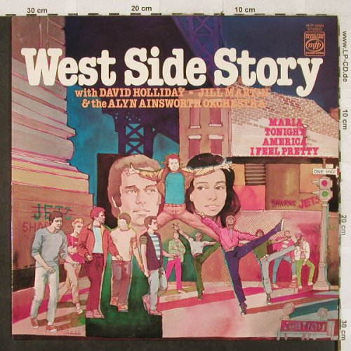 West Side Story: Same,David Holliday,Jill Martin, MFP(MFP 50363), UK, Ri,  - LP - H3314 - 6,00 Euro