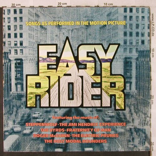 Easy Rider - Songs as performed: Steppenwolf...Roger McGuinn, MCA(250 454-1), D,  - LP - H3851 - 4,00 Euro
