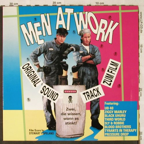 Men At Work: Original Soundtrack,12 Tr by V.A., RCA(BL 74944), D, 1990 - LP - H3894 - 5,50 Euro