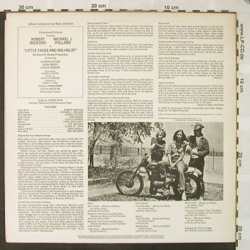 Little Fauss and Big Halsy: Cash,Perkins,Tennessee Three, CBS(S 70087), 1971, 1971 - LP - H5296 - 9,00 Euro