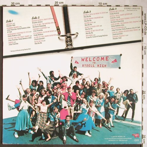 Grease: Original Soundtrack, Foc, RSO(2658 125), D, 1978 - 2LP - H5924 - 7,50 Euro