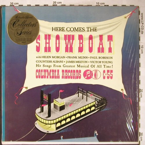 Showboat: Original Cast, Here Comes the, Columbia SP(AC 55), US,Mono, 1974 - LP - H6150 - 12,50 Euro