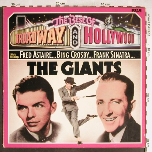 V.A.The Best of Broadway and Hollyw: The Giants, Astaire,Crosby,Sinatra, RCA International(26.21729 AG), D, Ri, 1975 - LP - H6318 - 4,00 Euro