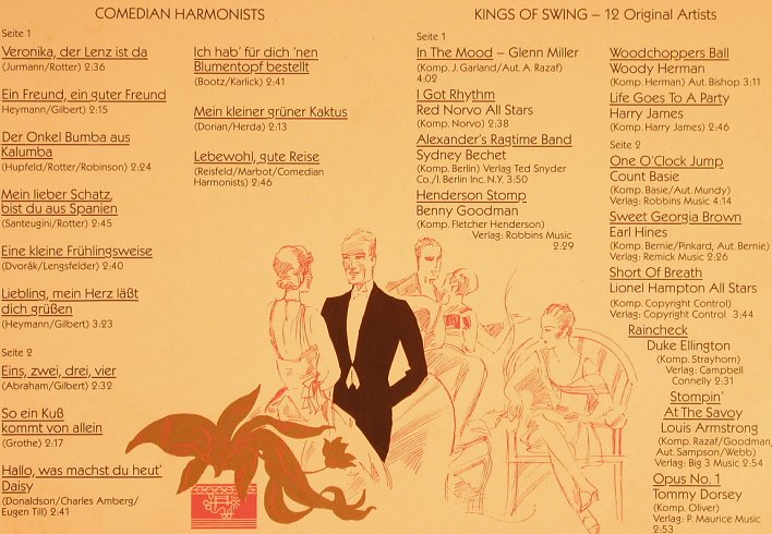 Comedian Harmonists / V.A.Swing: Entertainment on Board, Foc, MFP/Marifon(), D,  - 2LP - H7778 - 7,50 Euro