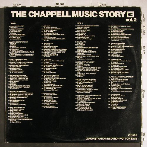V.A.The Chappell Music Story: Demo Record, 225 Tr. snippets, Chappell(C11580), US, Foc, 1980 - 2LP - H8041 - 7,50 Euro