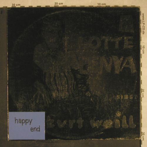 Lenya,Lotte: Happy End, m-/ Selfmade Cover,Fotos, Philips(B 47 080 L), D,  - LP - H9546 - 10,00 Euro