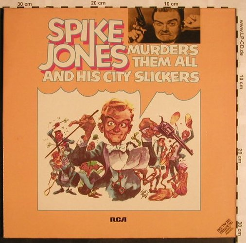 Jones,Spike & His City Slickers: Murders Them All, Foc, RCA Victor(26.28018), D, 1973 - 2LP - X1148 - 7,50 Euro