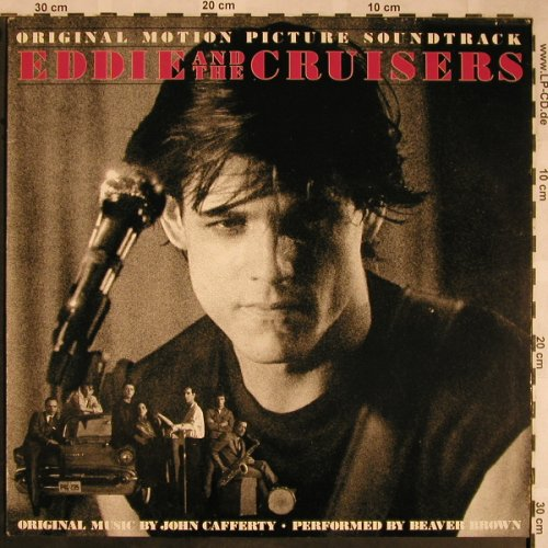 Eddie & The Cruisers: Orig.Soundtr.by J.Cafferty, ScottiBros(260 14 024), D, 1983 - LP - X1481 - 5,00 Euro