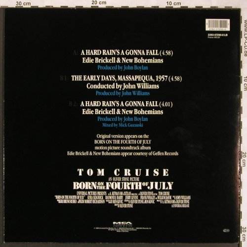 Born On The Fourth Of July: Eddy Brickell.., John Williams, MCA(2292-57290-0), D, 1989 - 12inch - X1839 - 2,50 Euro
