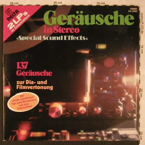 Geräusche In Stereo: 137 Tr.,Special Sound Effects, Delta(DA 2082), D, 1979 - 2LP - X2397 - 5,00 Euro