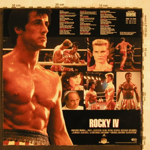 Rocky IV: Original Soundtrack, ScottiBros(260 14 040), D, 1985 - LP - X397 - 4,00 Euro