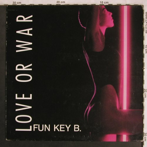 Love or War: Jens Krause & Fun Key B.,vg+/m-, Nds.Staatstheater Hannov(572-13 012), D,Booklet, 1989 - LP - X4052 - 7,50 Euro