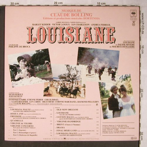 Louisiane: by Claude Bolling,Philippe de Broca, CBS(CBS 71127), NL, 1984 - LP - X5465 - 6,00 Euro