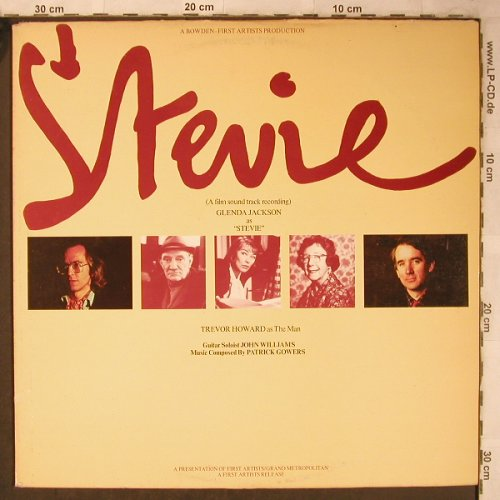 Stevie: A Film Sound Track Recording, CBS, PromoStoc(CBS 70165), UK,m-/vg+, 1978 - LP - X5481 - 6,00 Euro
