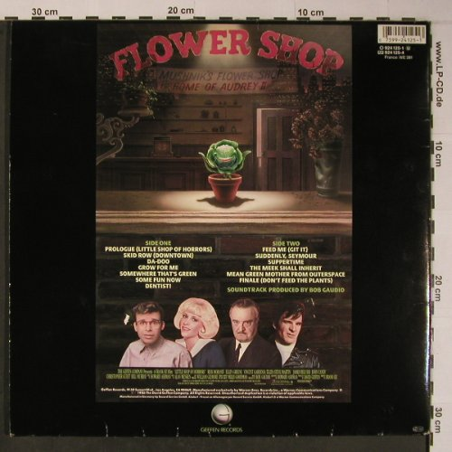 Little Shop Of Horrors: Orig.Motion Pict.Soundtrack, Foc, Geffen(924 125-1), D, 1986 - LP - X6190 - 5,00 Euro
