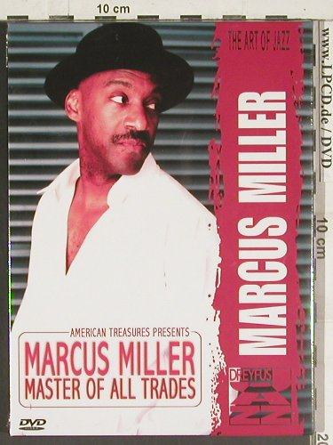 Miller,Marcus: Master Of All Trades, FS-New, Dreyfus(FDM 36684-9), , 2005 - DVD - 20021 - 14,00 Euro