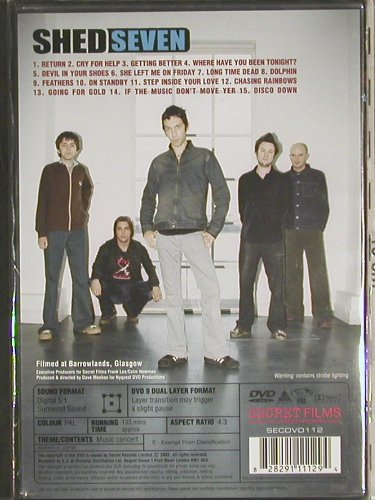Shed Seven: See youse at the Barras,Live,FS-New, Secret Films(SECDVD 112), , 2004 - DVD-V - 20052 - 10,00 Euro