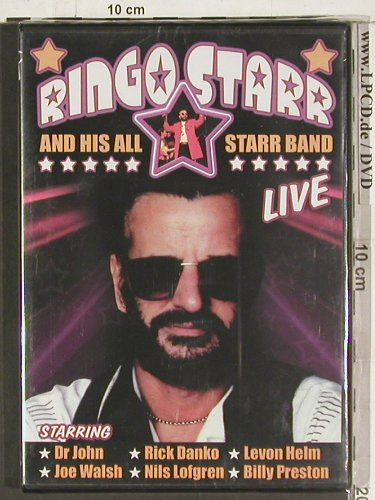 Starr,Ringo and his All Starr Band: Live, FS-New, ILC(DVD2386), , 03 - DVD-V - 20085 - 7,50 Euro