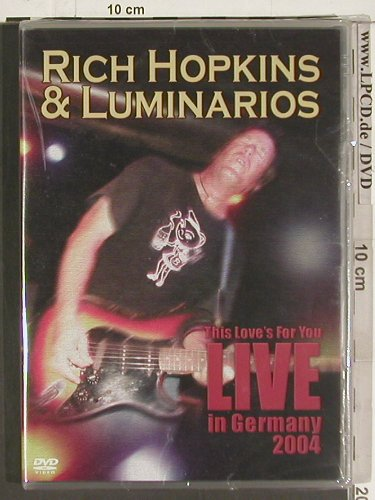 Hopkins,Rich & Luminarios: This Love's for you in Germany 2004, Blue Rose(BLUDV0342), , 2004 - DVD-V - 20098 - 10,00 Euro