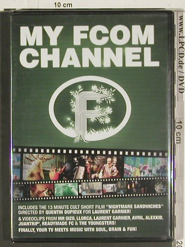 V.A.My FCOM Channel: LLorca...Laurend Garnier, FS-New, F Communications(F 213 DVD), PAL/NTSC, 2004 - DVD-V - 20017 - 6,00 Euro