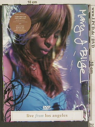 Blige,Mary J.: Live from Los Angeles, FS-New, Sanctuary(SVE 4005), , 2004 - DVD-V - 20036 - 7,50 Euro