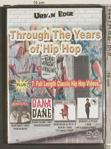 V.A.Through the Years of Hip Hop: Run DMC,Queen Latifah,Rob Base..., Urban Edge(WNRD 2152), FS-New, 02 - DVD-V - 20104 - 7,50 Euro
