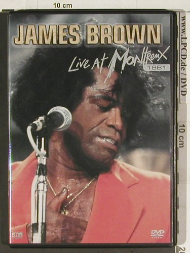 Brown,James: Live at Montreux 1981, m/m, Eagle(EREDV488), , 2006 - DVD-V - 20186 - 7,50 Euro