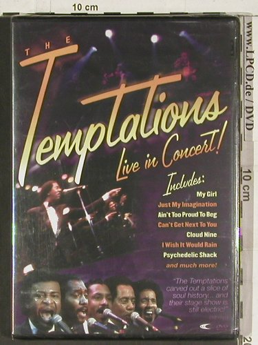 Temptations: Live in Concert, FS-New, ILC(DVD2430), , 2004 - DVD-V - 20190 - 12,50 Euro