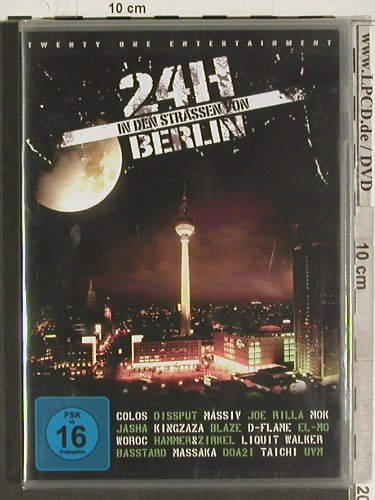 V.A.24 h in den Strassen von Berlin: Colos..UVM, FS-New, Twenty One(), EU, 2009 - DVD-V - 20230 - 7,50 Euro