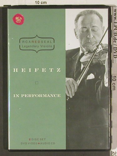 Heifetz,Jascha: In Performance, RCA Red Seal(), EU, 2005 - DVD/CD - 20132 - 10,00 Euro